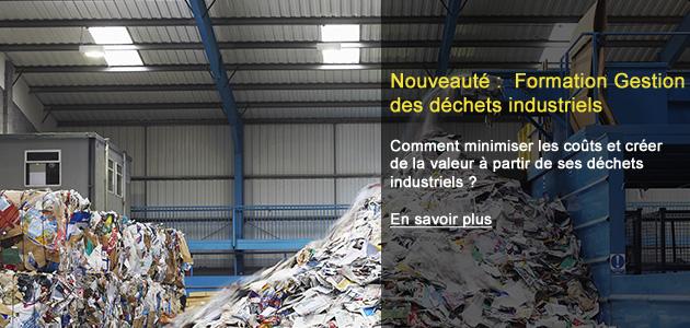 Formation Gestion des déchets industriels